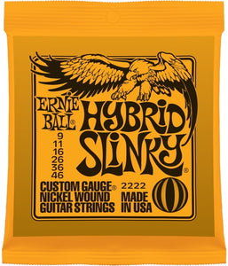 Ernie Ball 2222 Hybrid Slinky Nickel Wound Electric Strings | The  Music Gallery