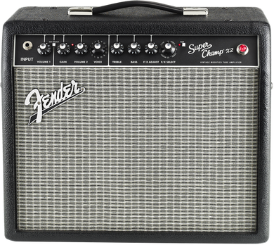 Fender Super Champ X2 1x10 Combo Hybrid Amplifier - The Music Gallery