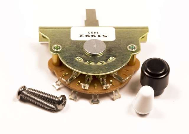 Fender® 3-Postion Vintage Stratocaster-Telecaster Pickup Selector Switch - The Music Gallery