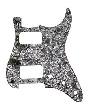 Might Mite 11-hole HH Stratocaster Pickguard - The Music Gallery