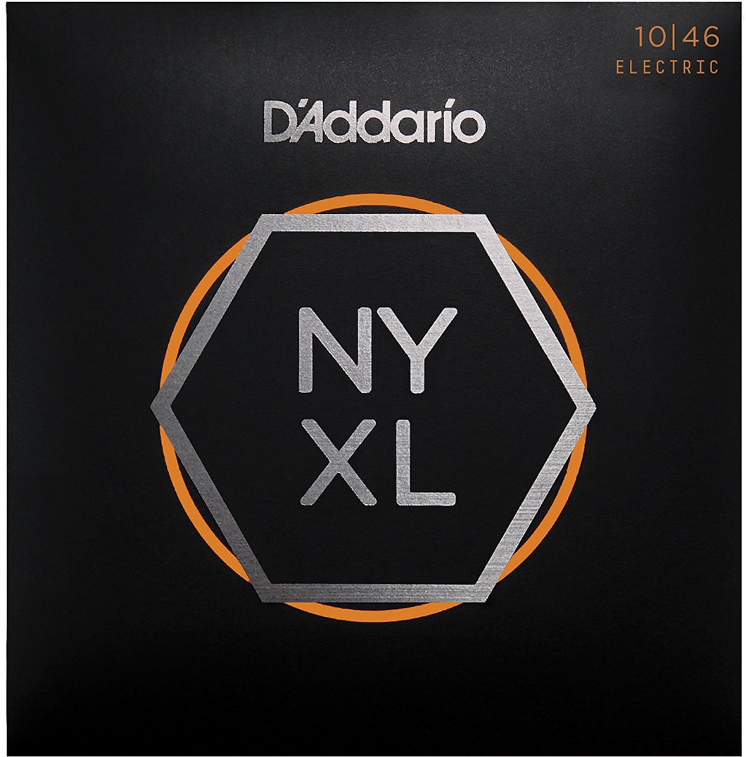 D'Addario NYXL Regular Light .010-.046 Nickel Wound Electric Guitar Strings | The  Music Gallery