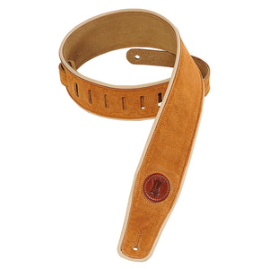 "Levy's MSS3 2.5"" Suede-Leather Guitar Strap 