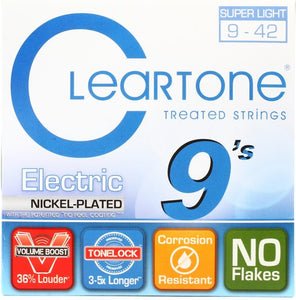 Cleartone Super Light .009-.042 9409 EMP Electric Guitar Strings | The  Music Gallery