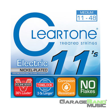 Cleartone Medium .011-.048 9411 EMP  Electric Guitar Strings | The  Music Gallery