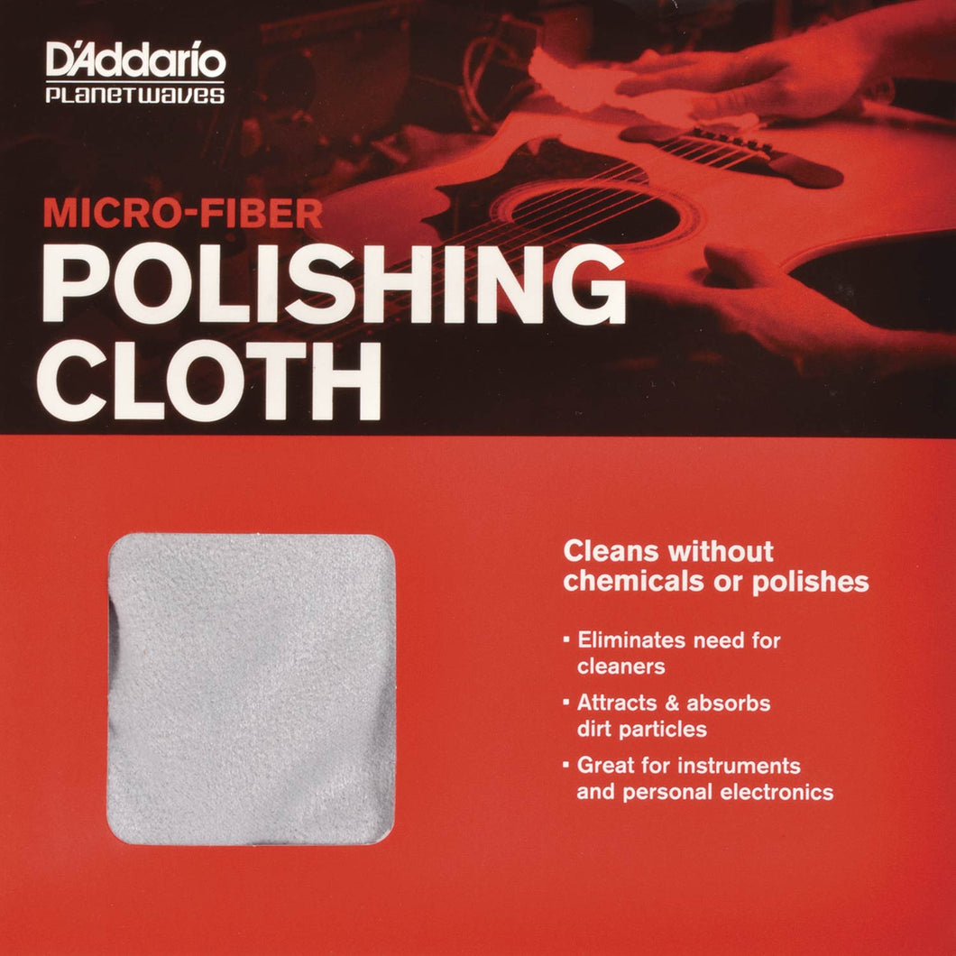 D'Addario Planet Waves Micro-Fiber Polishing Cloth | The  Music Gallery