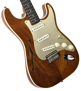 Fender Custom Shop Artisan Thinline Stratocaster Figured Koa CZ538324 | The Music Gallery | Front Angle 2