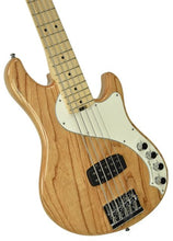Fender® Dimension V Bass Natural | Front Left