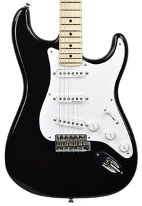 Fender Custom Shop Eric Clapton Stratocaster Masterbuilt by Todd Krause Black CZ538430 - The Music Gallery