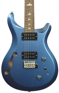 PRS S2 Custom 22 Semi-Hollow in Metallic Denim - Front