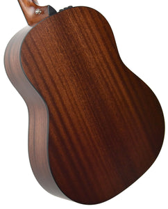 Taylor 317E V Class Bracing Acoustic Electric 1102119050 Back Angle 1