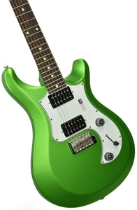 PRS S2 Standard 24 Satin Jewel Lime Metallic - Front Left