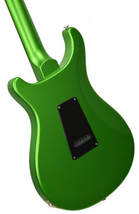 PRS S2 Standard 24 Satin Jewel Lime Metallic - Back Left