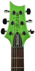 PRS S2 Standard 24 Satin Jewel Lime Metallic - Headstock Front