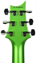 PRS S2 Standard 24 Satin Jewel Lime Metallic - Headstock Back