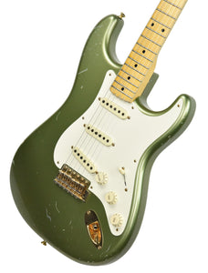USED Fender Custom Shop Master Design Todd Krause Stratocaster in Moss Green CZ523445