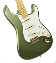 USED Fender Custom Shop Master Design Todd Krause Stratocaster in Moss Green CZ523445 - The Music Gallery