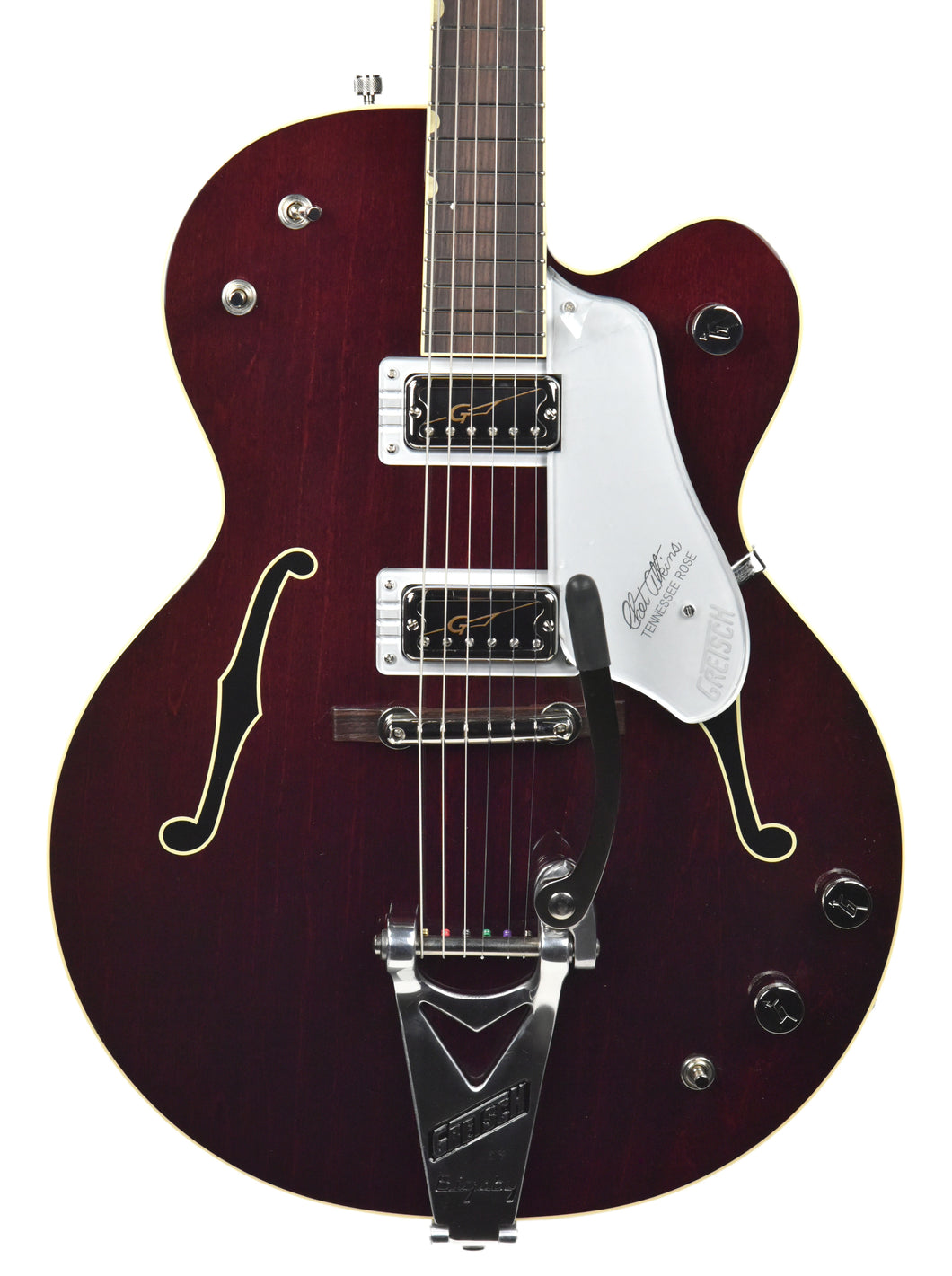Gretsch Vintage Select G6119T '62 Tennessean Dark Cherry Stain JT18124750 | Front Close | The Music Gallery