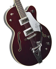 Gretsch Vintage Select G6119T '62 Tennessean Dark Cherry Stain JT18124750 Front Angle 1