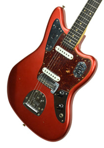 Used Fender Custom Shop 62 Jaguar Journeyman Relic Faded Candy Apple Red R94554