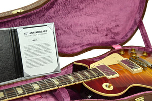 Gibson Custom 60th Anniversary 1960 Les Paul Standard V1 VOS Deep Cherry Burst 00534