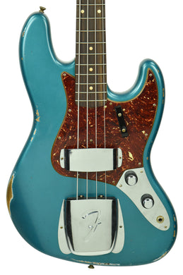 Fender Custom Shop 60s Jazz Bass Relic in Aged Ocean Turquoise