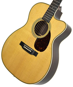 Martin OMC-28E Acoustic Electric Guitar w/ Cutaway 2248090 - The Music Gallery