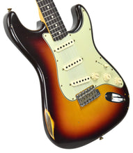 Fender Custom Shop 1961 Stratocaster Relic in 3 Tone Sunburst CZ539714 - The Music Gallery