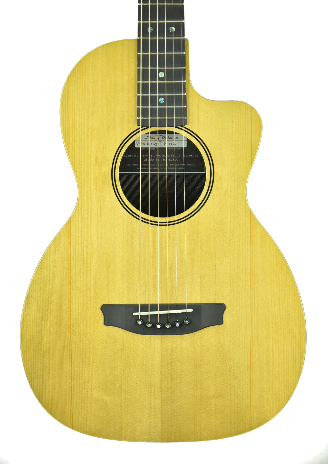 Rainsong V-PA1100NS Acoustic Hybrid Guitar in Natural 19772 - The Music Gallery