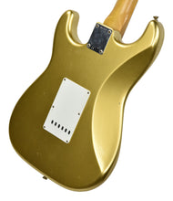 Fender Custom Shop 63 Stratocaster Journeyman Relic HLE Gold R97833 - The Music Gallery