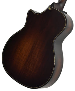 Taylor Builder's Edition K14ce Acoustic Electric Guitar 1101079019 Back Angle 2
