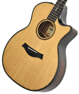 Taylor Builder's Edition K14ce Acoustic Electric Guitar 1101079019 Front Angle 2
