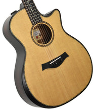 Taylor Builder's Edition K14ce Acoustic Electric Guitar 1101079019 Front Angle 1