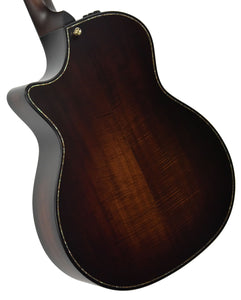 Taylor Builder's Edition K14ce Acoustic Electric Guitar 1101079019 Back Angle 1