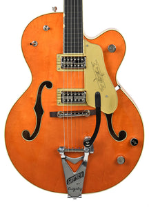 Gretsch G6120T-59GE Vintage Select 1959 Chet Atkins Vintage Orange Stain Lacquer JT18103988 Front Close