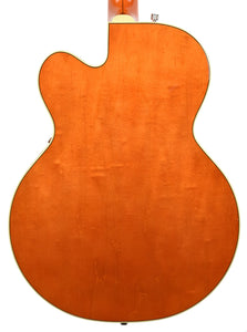 Gretsch G6120T-59GE Vintage Select 1959 Chet Atkins Vintage Orange Stain Lacquer JT18103988 Back Close