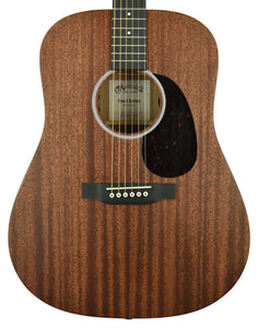 Martin Road Series D-10E Acoustic Electric Guitar Natural Sapele 2355456