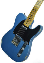 SOLD - Fender® Custom Shop 1 Piece Ash 50s Telecaster Relic in Lake Placid Blue R17870