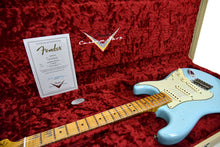 Fender Custom Shop 59 Special Stratocaster Relic in Daphne Blue CZ540236 - The Music Gallery