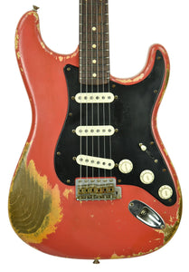 Fender Custom Shop Masterbuilt 62 Stratocaster Heavy Relic by Dale Wilson in Fiesta Red DW2026