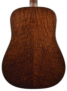 Martin Custom Shop D-18 Figured Sipo back close