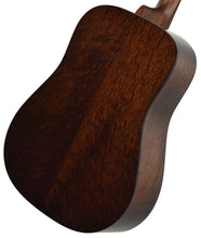 Martin Custom Shop D-18 Figured Sipo back angle 2