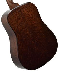 Martin Custom Shop D-18 Figured Sipo back angle 1