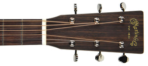 Martin Custom Shop D-18 Figured Sipo headstock front