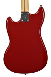 Fender Mustang Bass PJ in Torino Red MX18199428 Back Close