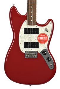 Fender Offset Series Mustang 90 in Torino Red MX18181923 - The Music Gallery