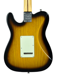 Fender® 2018 Limited Edition Strat-Tele Hybrid 2 Tone Sunburst - Back