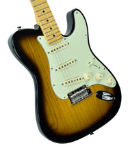 Fender® 2018 Limited Edition Strat-Tele Hybrid 2 Tone Sunburst - Front Left