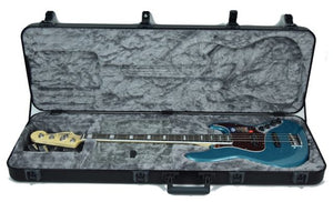 Fender® American Elite Jazz Bass in Ocean Turquoise - Case Open
