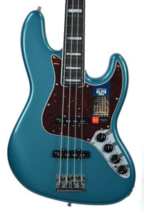 Fender® American Elite Jazz Bass in Ocean Turquoise - Front