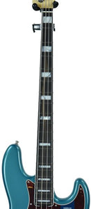 Fender® American Elite Jazz Bass in Ocean Turquoise - Neck Front